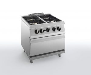 HBG2000  ELECTRIC OVEN WITH FOUR BURNERS SILKO NECG74E
