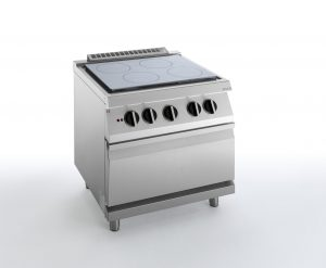 HBG2000 ELECTRIC, SOLID TOP, ELECTRIC, OVEN, SILKO NETE74E ELECTRIC SOLID TOP WITH ELECTRIC OVEN SILKO NETE74E