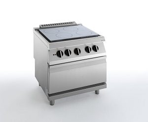 HBG2000 ELECTRIC SOLID TOP WITH ELECTRIC OVEN SILKO NETE94E ELECTRIC SOLID TOP WITH ELECTRIC OVEN SILKO NETE94E
