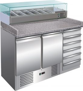 HBG2000  REFRIGERATED COUNTERS FOR PIZZA FORCAR S903PZ
